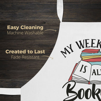 My Weekend Is All Booked - Apron - [variant_title]