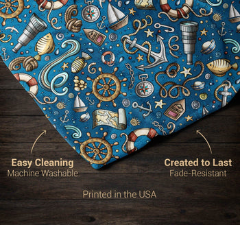 Nautical Explorer - Personalized Blanket - [variant_title]