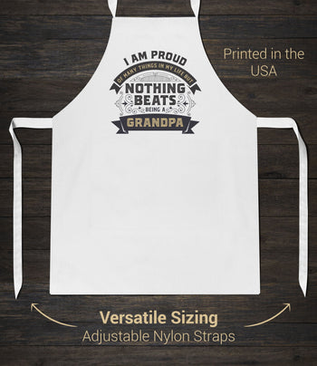 Nothing Beats Being a (Nickname) - Personalized Apron - [variant_title]