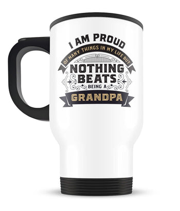 Nothing Beats Being a (Nickname) - Personalized Travel Mug - [variant_title]
