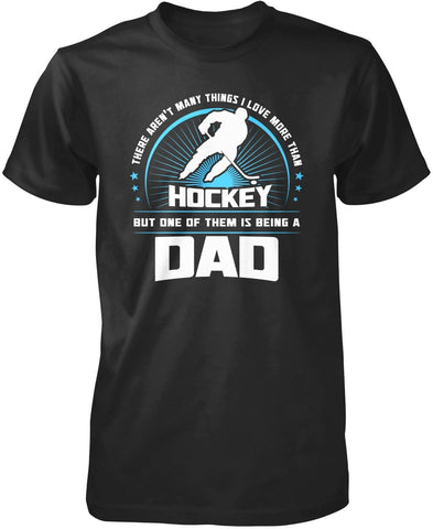 This (Nickname) Loves Hockey - Personalized T-Shirt