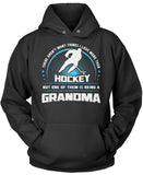 This Grandma Loves Hockey Pullover Hoodie Sweatshirt