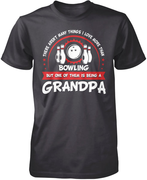 This Grandpa Loves Bowling T Shirt