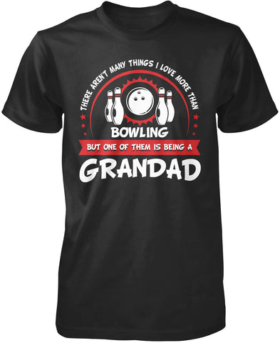 This Grandad Loves Bowling T-Shirt