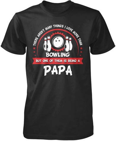 This Papa Loves Bowling T-Shirt