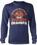 This Grandpa Loves BBQ Longsleeve T-Shirt