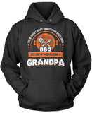 This Grandpa Loves BBQ Pullover Hoodie Sweatshirt