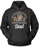 This Dad Loves Homebrew Pullover Hoodie Sweatshirt
