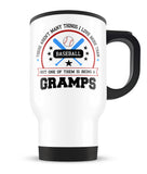 This Gramps Loves Baseball - Travel Mug