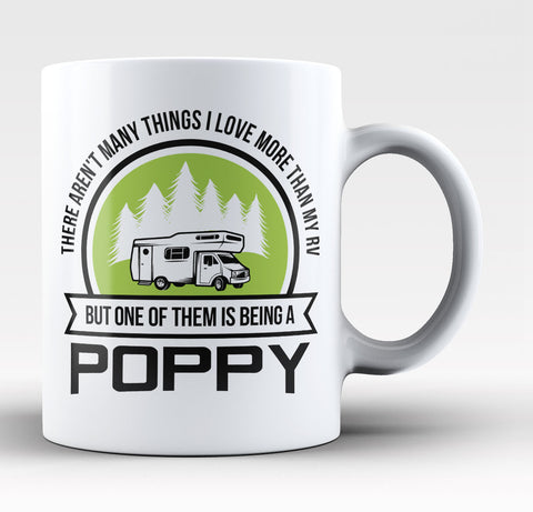 This Poppy Loves His RV - Coffee Mug / Tea Cup