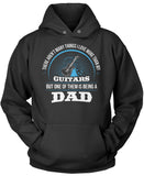 This Dad Loves Guitars Pullover Hoodie Sweatshirt