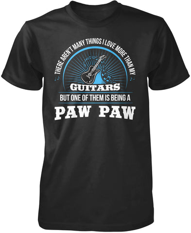 This Paw Paw Loves Guitars