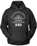 This Dad Loves Billiards Pullover Hoodie Sweatshirt