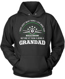 This Grandad Loves Billiards Pullover Hoodie Sweatshirt