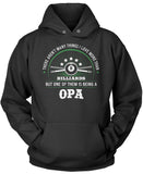 This Opa Loves Billiards Pullover Hoodie Sweatshirt