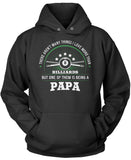 This Papa Loves Billiards Pullover Hoodie Sweatshirt