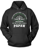 This Papaw Loves Billiards Pullover Hoodie Sweatshirt