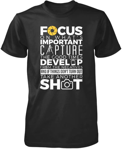 The Photography Code T-Shirt