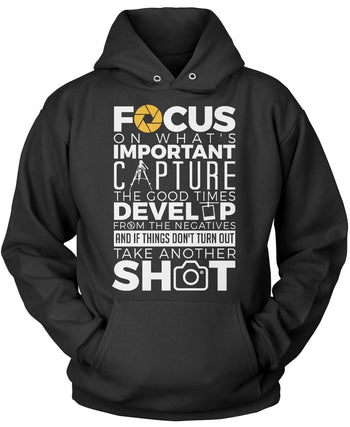 The Photography Code Pullover Hoodie Sweatshirt