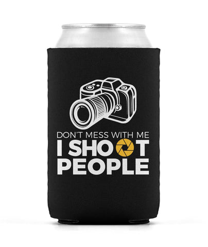 Photographer - I Shoot People - Can Cooler