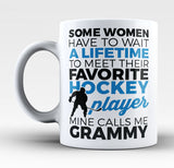 Favorite Hockey Player - Mine Calls Me Grammy - Mug