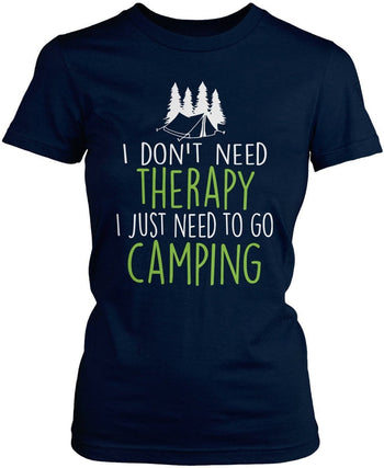 Camping Therapy - T-Shirts