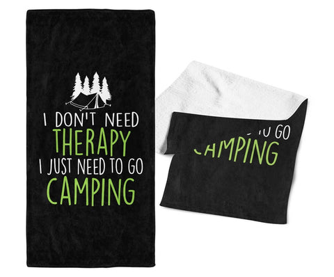 Camping Therapy - Gym / Camping Towel - Towels