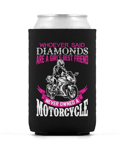 Motorcycles Are a Girl's Best Friend - Can Cooler