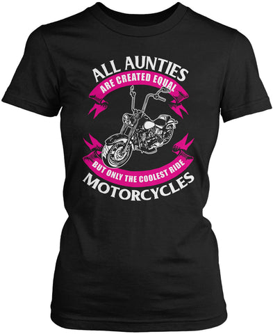 Only The Coolest Aunties Ride Motorcycles