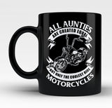 Only The Coolest Aunties Ride Motorcycles - Mug
