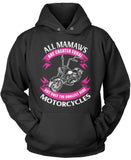 Only The Coolest Mamaws Ride Motorcycles Pullover Hoodie Sweatshirt