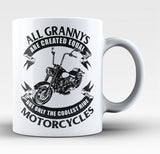 Only The Coolest Grannys Ride Motorcycles - Coffee Mug / Tea Cup