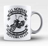 Only The Coolest Nonna Ride Motorcycles - Coffee Mug / Tea Cup