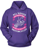 Only The Coolest Nanas Ride Motorcycles