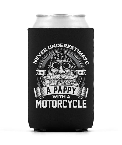 Never Underestimate a Pappy with a Motorcycle - Can Cooler