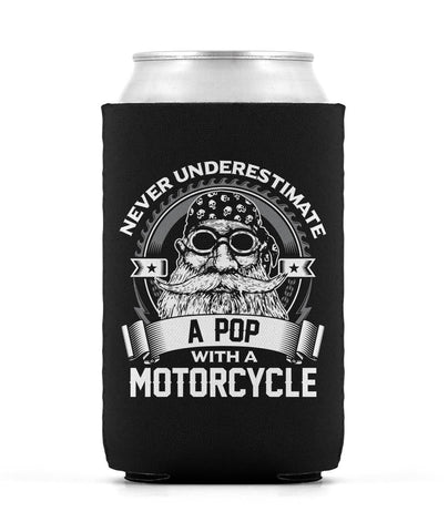 Never Underestimate a Pop with a Motorcycle - Can Cooler