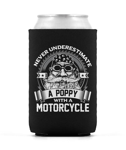 Never Underestimate a Poppy with a Motorcycle