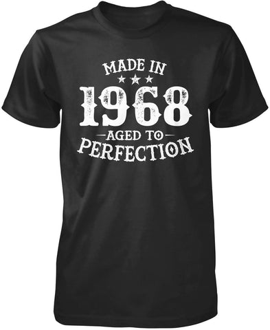 Made In (Your Birth Year) - Personalized T-Shirt - Premium T-Shirt / Black / S