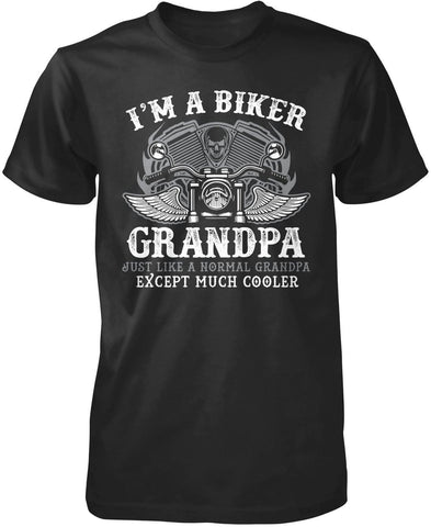 I'm a Cool Biker (Nickname) - Personalized T-Shirt