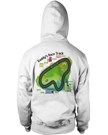 Daddy's Race Track (Back Design) - T-Shirts