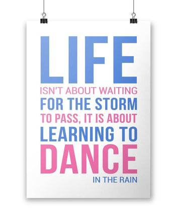 Dance In The Rain - Poster - Posters