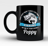 This Poppy Loves Fishing - Mug