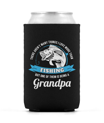 This Grandpa Loves Fishing - Can Cooler
