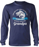 This Grandpa Loves Fishing Longsleeve T-Shirt