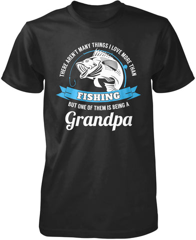 This Grandpa Loves Fishing T-Shirt