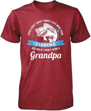 This (Nickname) Loves Fishing - Personalized T-Shirt - Premium T-Shirt / Cardinal / S