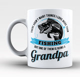 This Grandpa Loves Fishing - Mug