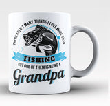 This Grandpa Loves Fishing - Coffee Mug / Tea Cup