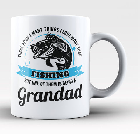 This Grandad Loves Fishing - Coffee Mug / Tea Cup