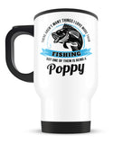 This Poppy Loves Fishing - Travel Mug